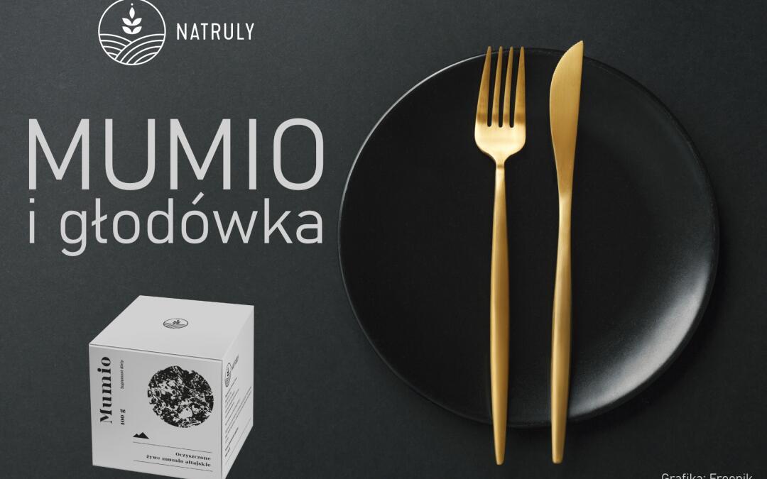 Oryginalne Mumio ałtajskie i głodówka