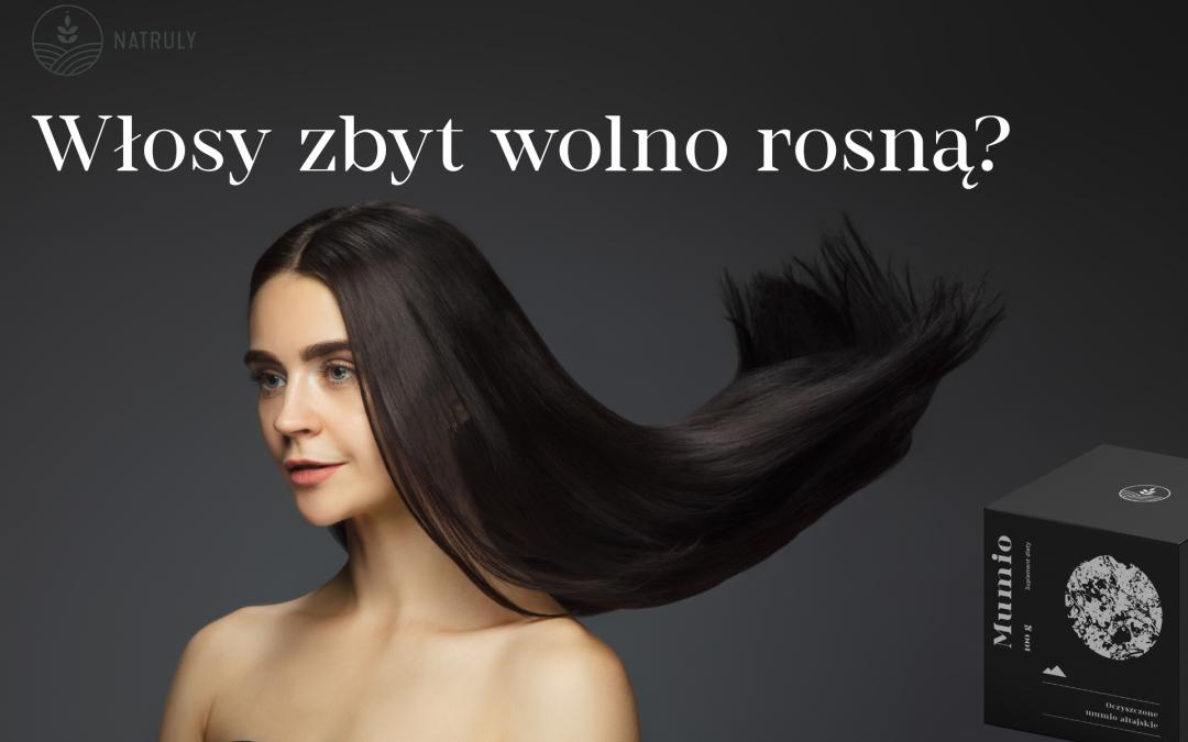 Oryginalne Mumio na przyspieszenie wzrostu włosów